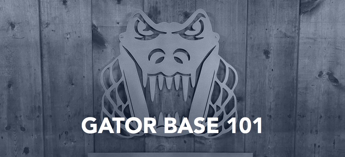 Gator Base 101 LP Banner
