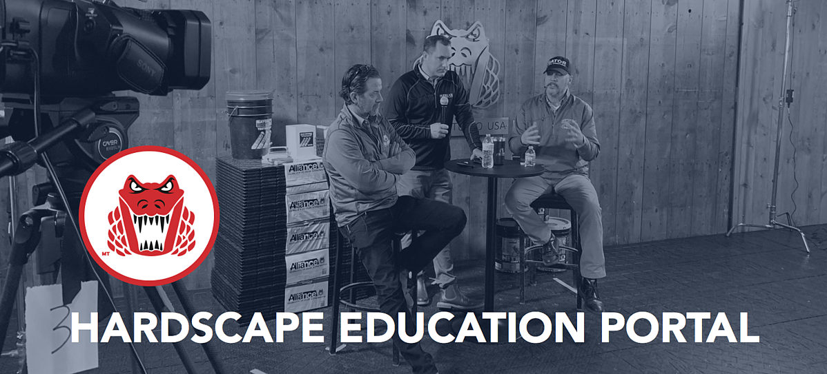 Hardscape Education Portal Banner