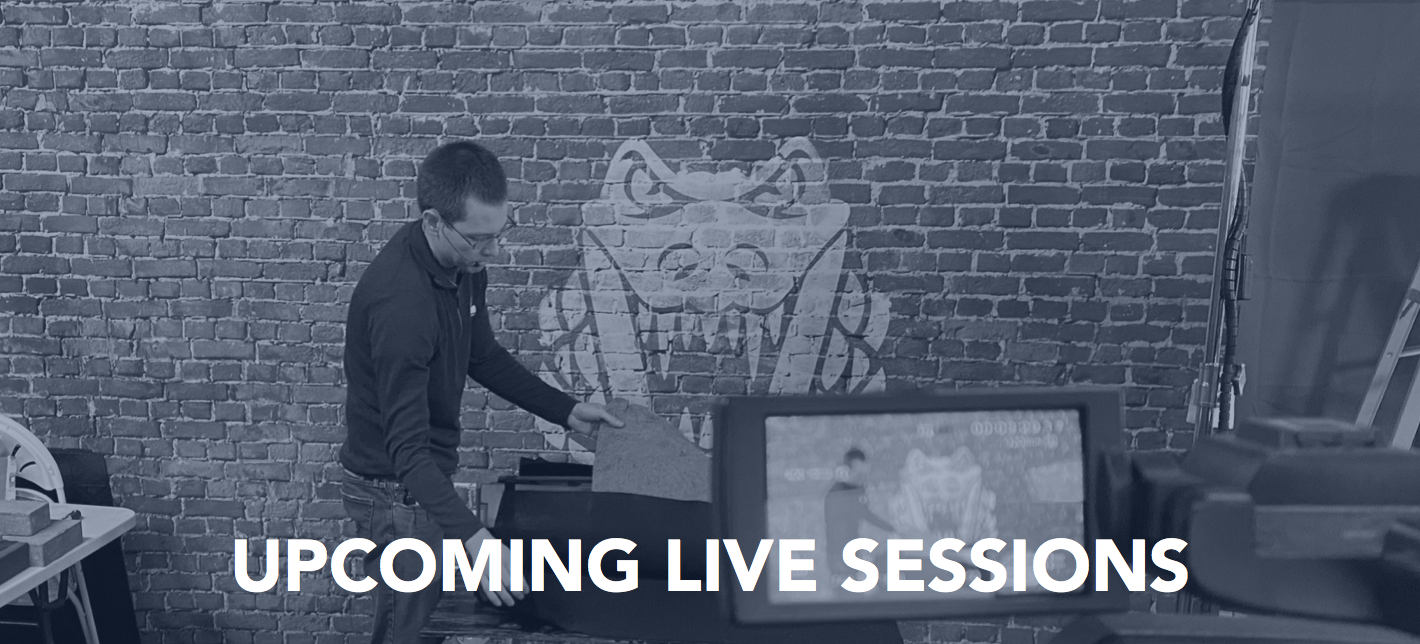 Live Sessions Banner