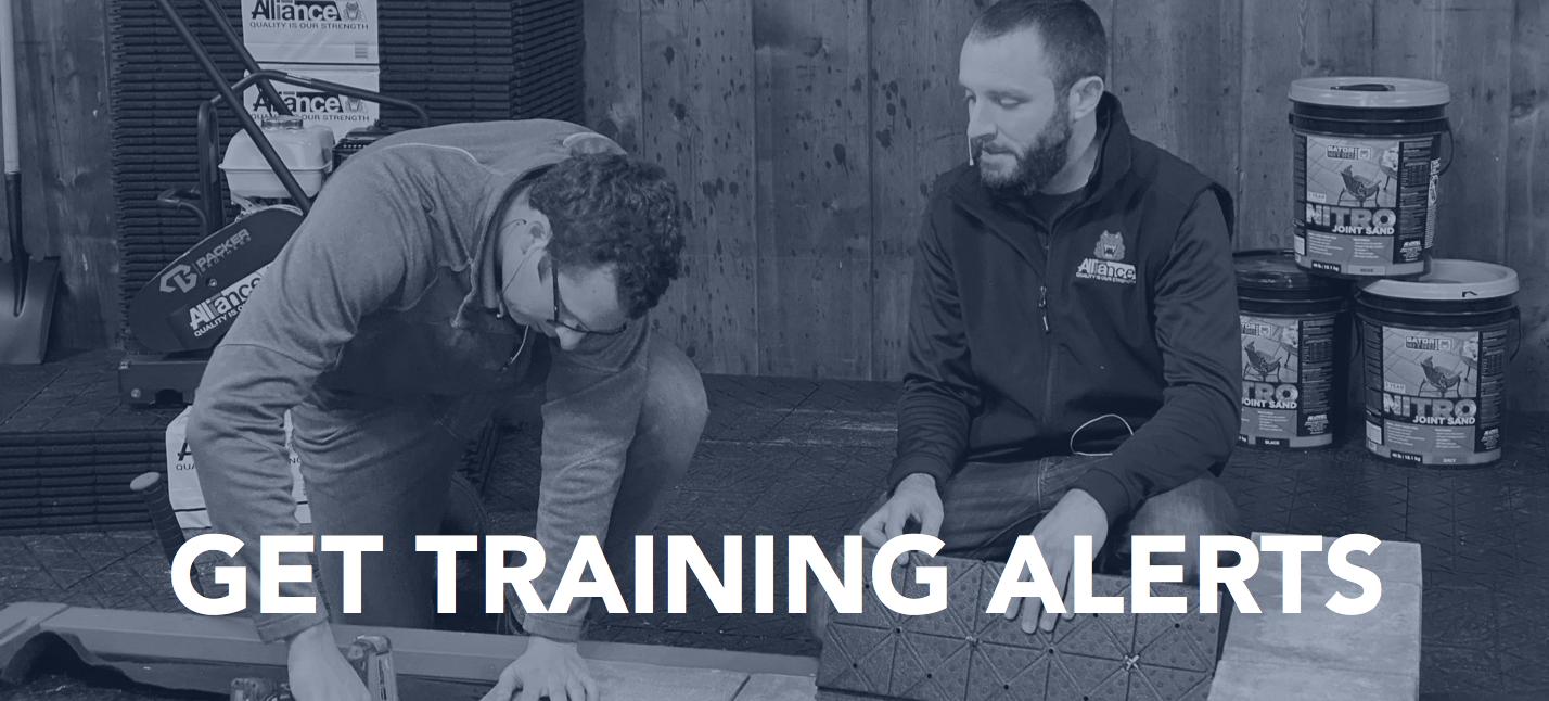 Training Alerts Banner